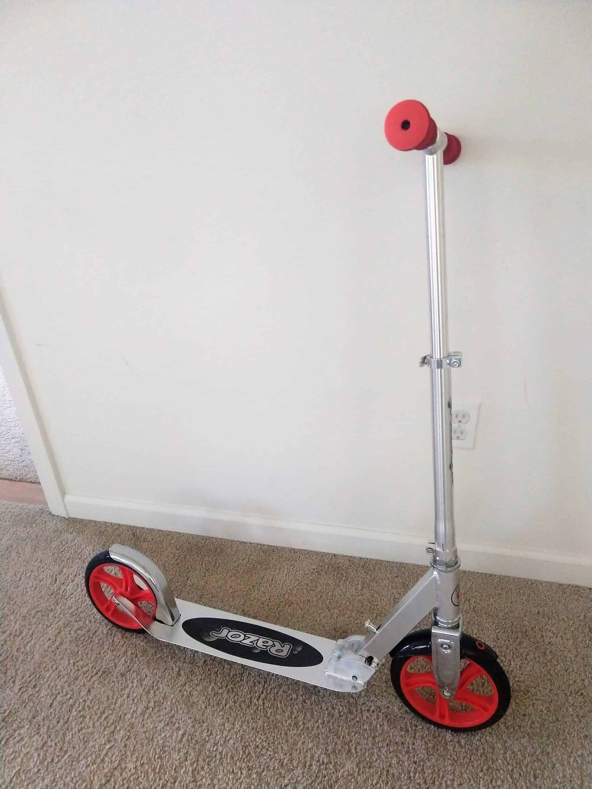 The Razor A5 Lux is a great deal on an adult kick scooter for fun, errands, and commuting