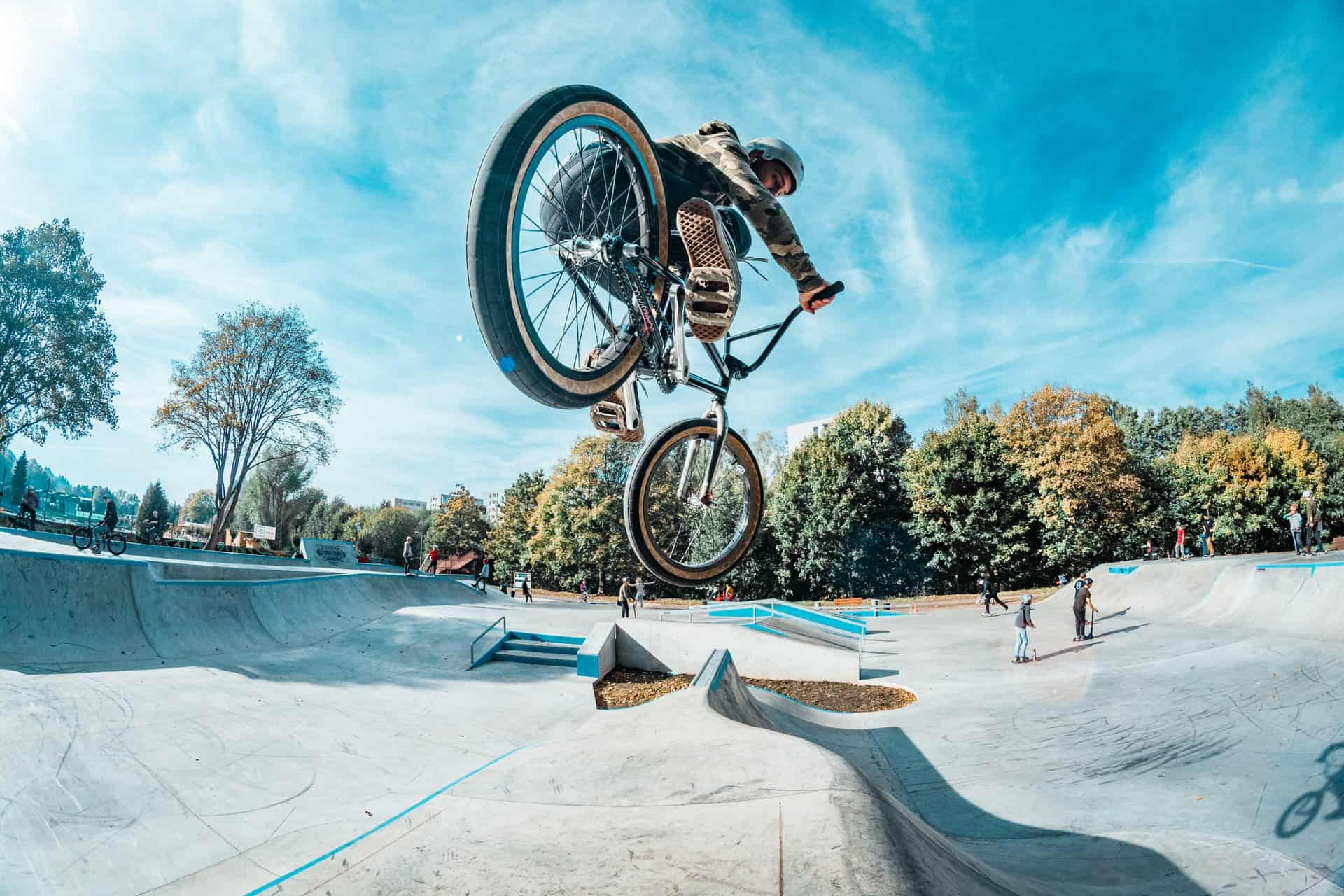 BMX bikes are not good for commuting due to difficult riding when seated, limited gear range, and lack of accessory compatibility