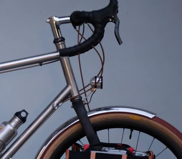 A Dutch bicycle with dynamo lighting